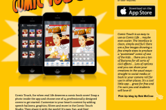 Comic Touch app product page