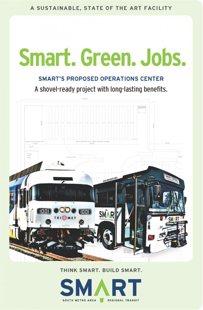 Wilsonville SMART Transit: Advertising and promotion (Creative Director: Matt Giraud)