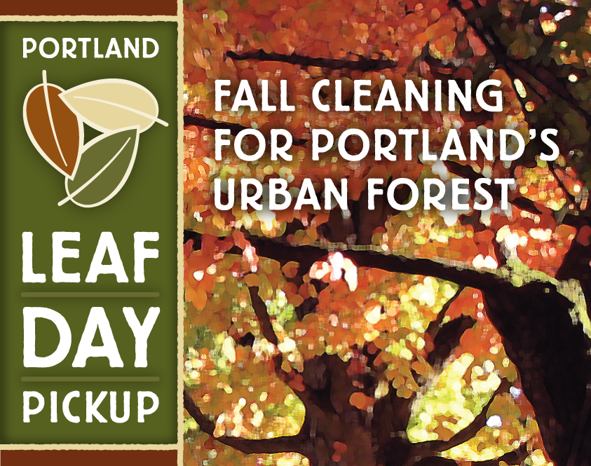 Portland Leaf Day Campaign, by Gyroscope Creative