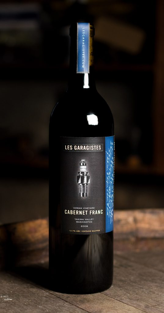 Les Garagistes Cabernet Franc Packaging by Matt Giraud