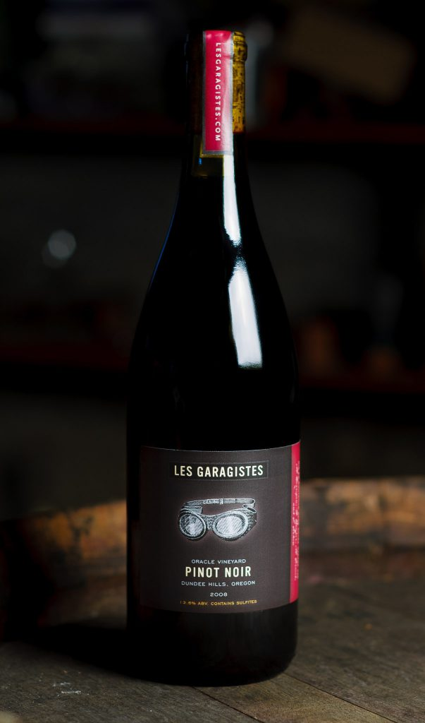 Les Garagistes Pinot Noir Packaging by Matt Giraud