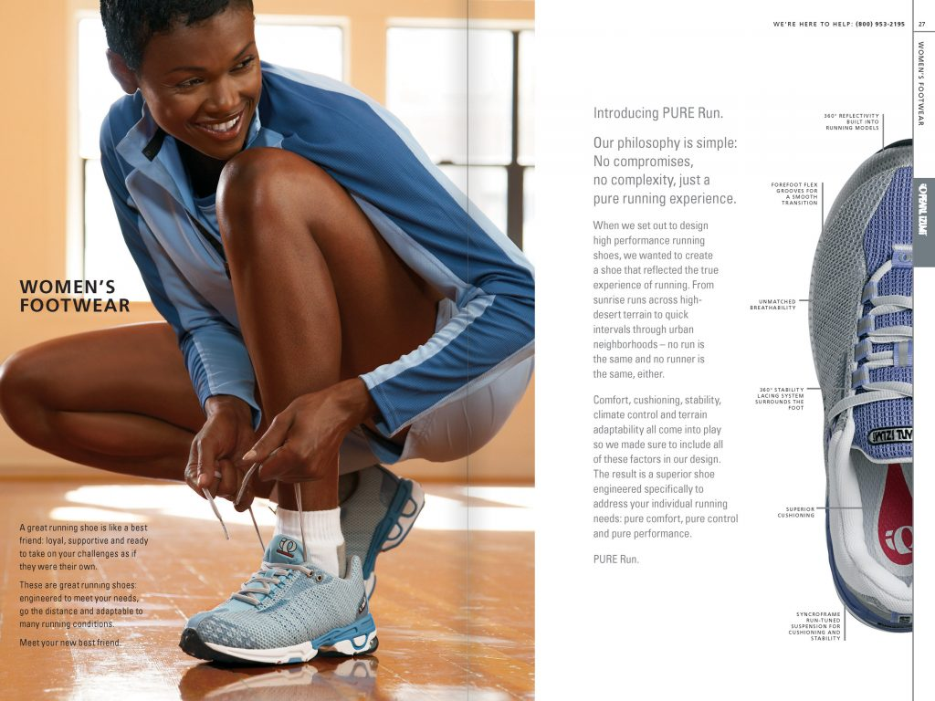 Nautilus Apparel Catalog: Women's Footwear (Creative Director: Matt Giraud)