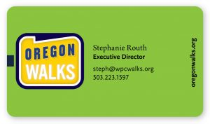 Oregon Walks Stationery (Matt Giraud, Creative Director, Gyroscope Creative