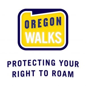 Oregon Walks branding (Matt Giraud, Creative Director, Gyroscope Creative)