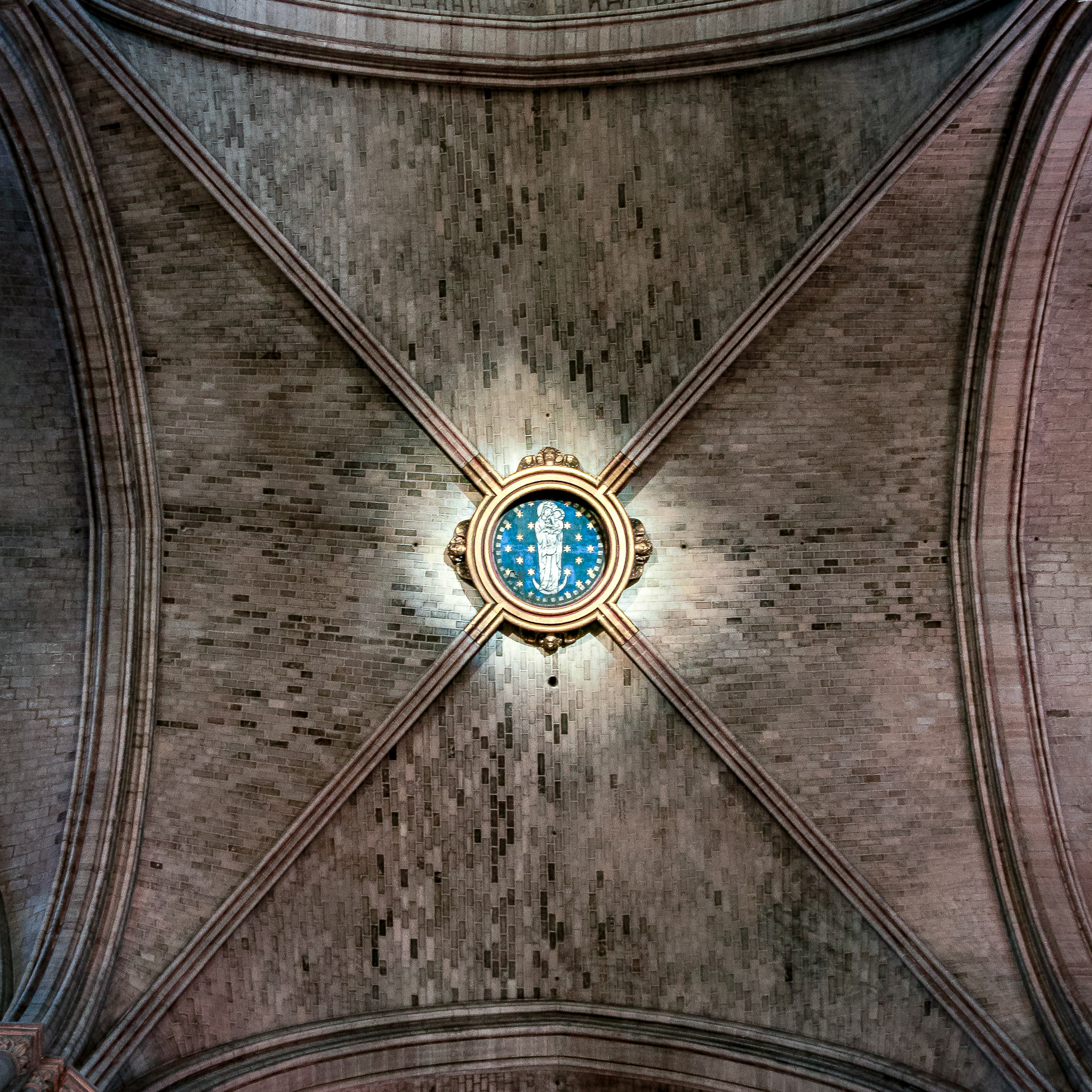 Notre Dame ceiling, photo by Matt Giraud