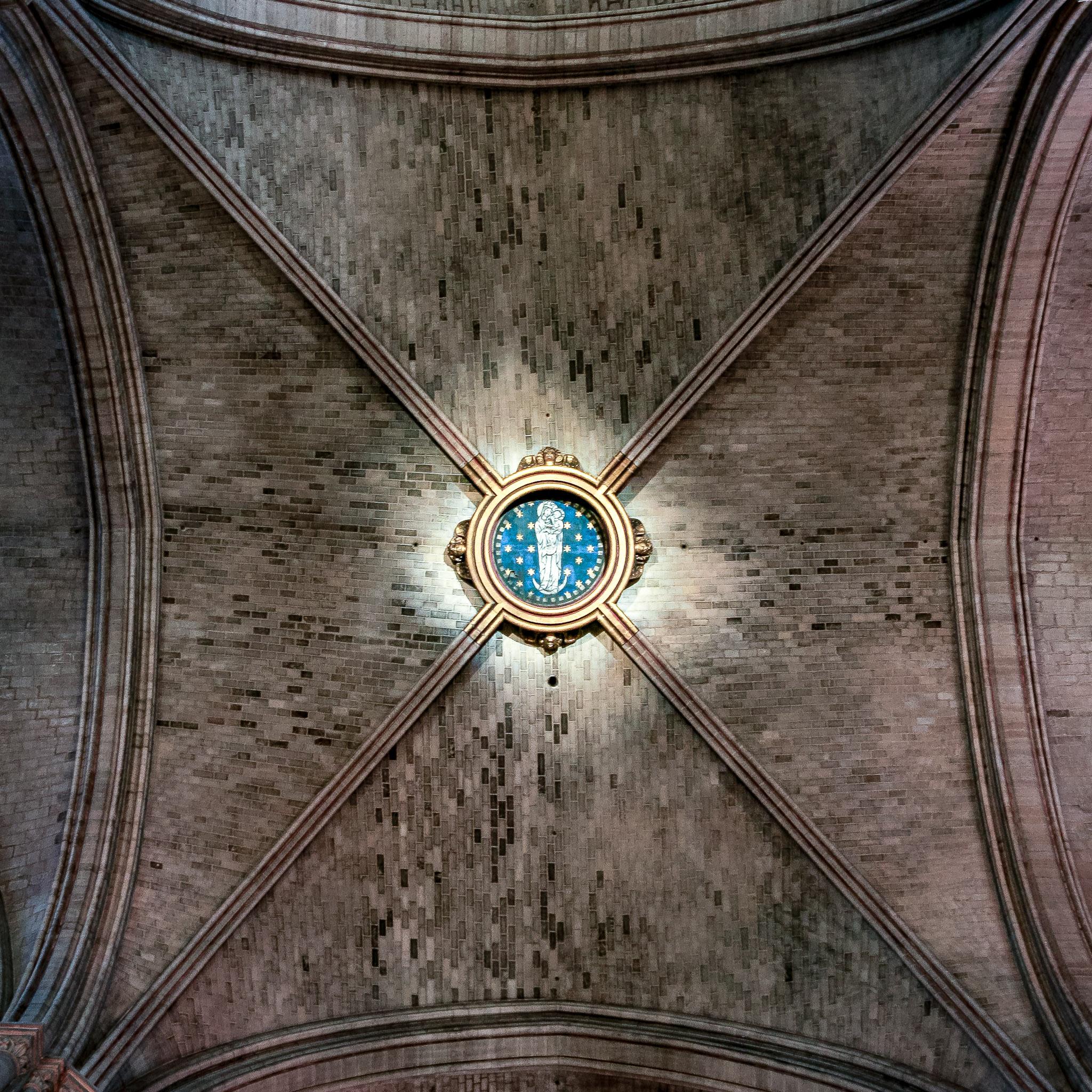 Notre Dame ceiling, photo by Matt Giraud