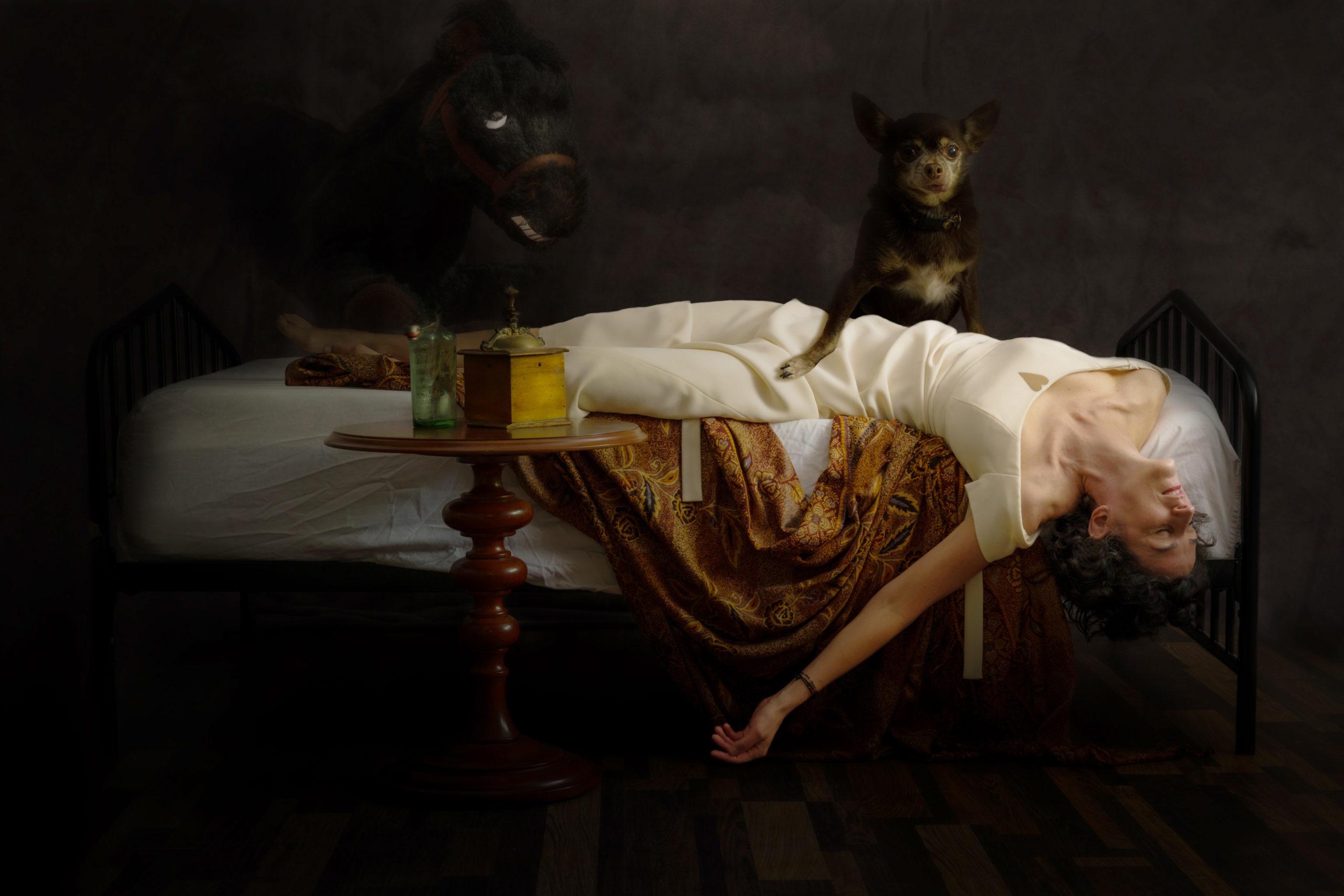 Recereating Fuseli's 'The Nightmare' | Matt Giraud Photography