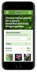 Oregon Flora Grow Natives - mobile (Matt Giraud, Creative Director, Gyroscope Creative)